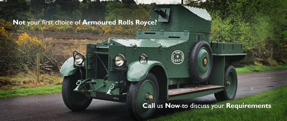 Thinking Of Armouring Your Favourite Vehicle? Call Us To Discuss Your Requirements