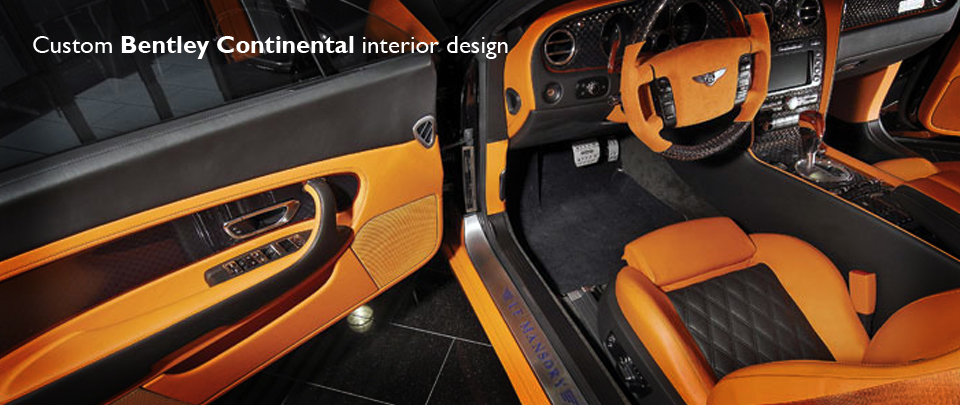 Custom Bentley Continental Interior Design