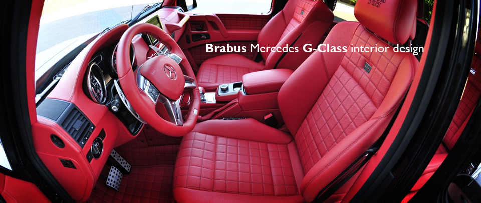 Custom G-Class Interior Design from Brabus