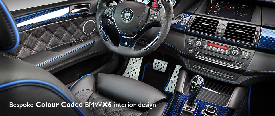 Custom BMW X6 Interior Design
