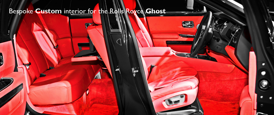 Luxury Bespoke Interior Design for the Rolls Royce Ghost