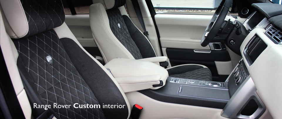 Bespoke Custom Interior Design for the Range Rover