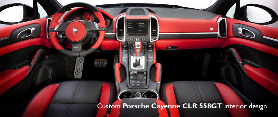 Bespoke Custom Interior Design for Porsche Cayenne