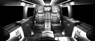 bespoke vehicle interior design, from leather re-trim to full custom interiors