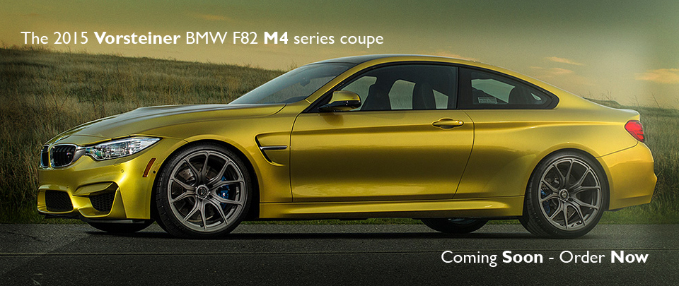 Coming Soon from Vorsteiner - Body Styling for the BMW M4