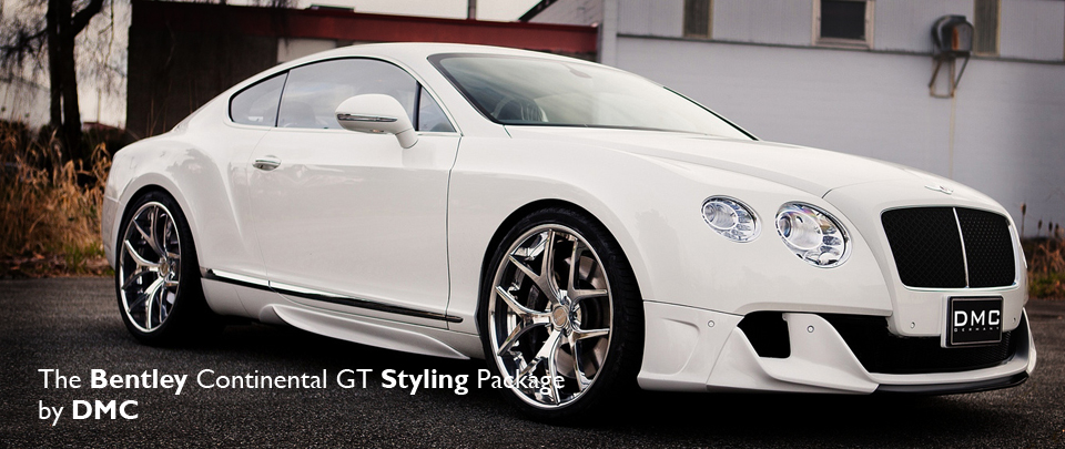 The DMC Bentley Continental GT Body Styling Package