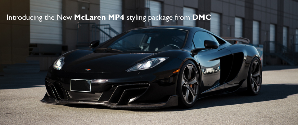Introducing the New Styling package for the McLaren MP4-12C from DMC