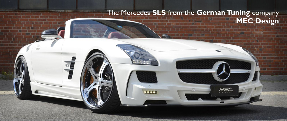 SLS Body Styling from the Tuning Company MEC Design