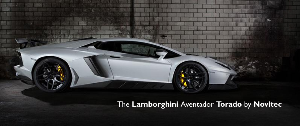 The Lamborghini Aventador TORADO from NOVITEC