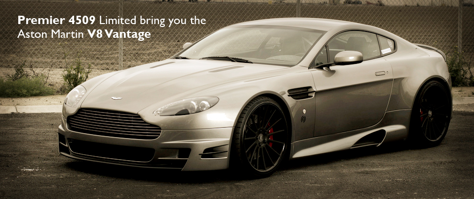 The Aston Martin V8 Vantage from Premier 4509 Limited AKA Veilside