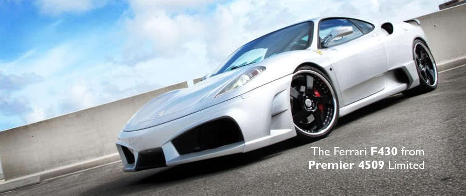 The Ferrari F430 from Premier 4509 Limited AKA Veilside