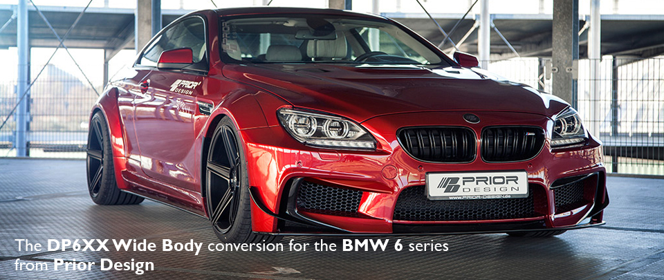 The PD6XX Wide Body conversion from Prior Design for the BMW 6 Series