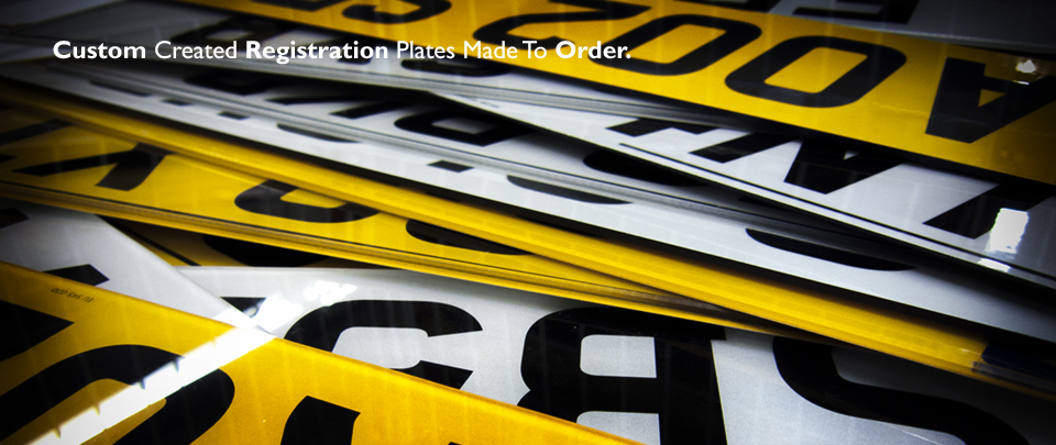 Purchased your ideal Registration? We Create DVLA Approved Plates for Any Vehicle