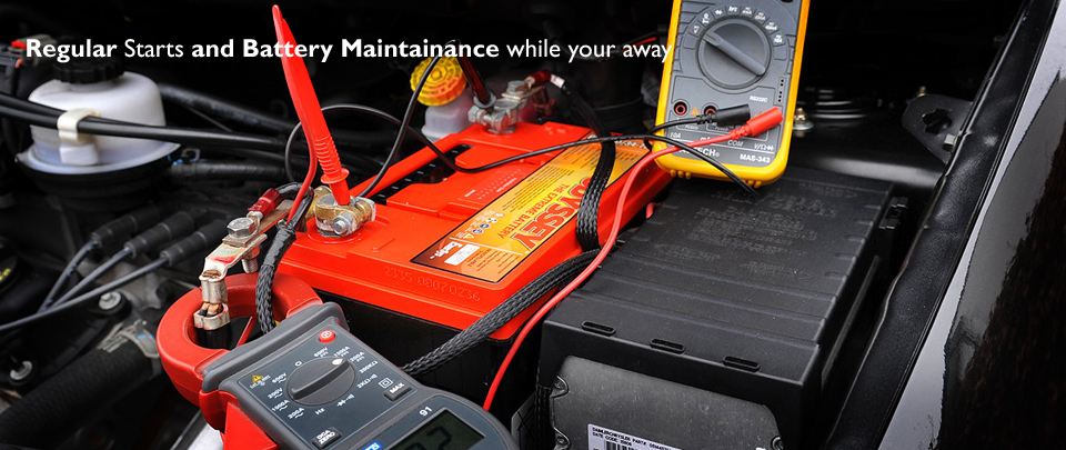 Our Service Includes Regular Fluid, Battery and Air Pressures Checks