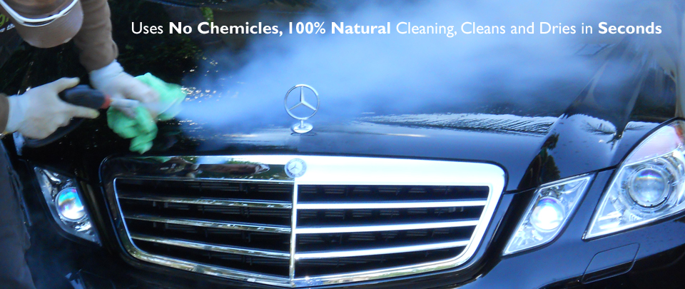 Steam Cleaning Leaves the Cleansed area Clean, Dry, Sanitized and Ready for Immediate Use.
