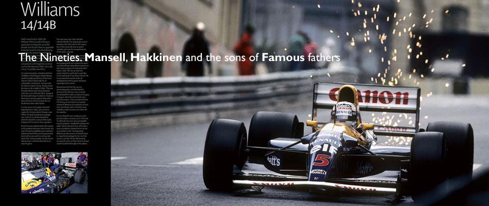 The Nineties. Mansell, Hakkinen and the sons of famous fathers
