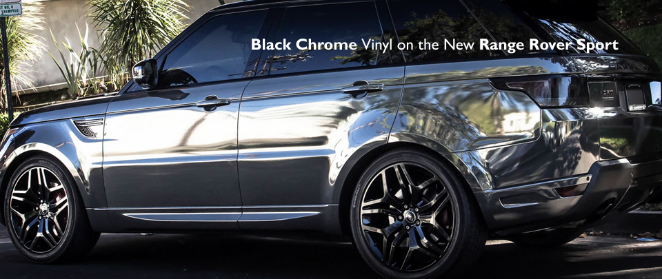 The Range Rover Sport In A Very Luxurious Black Chrome