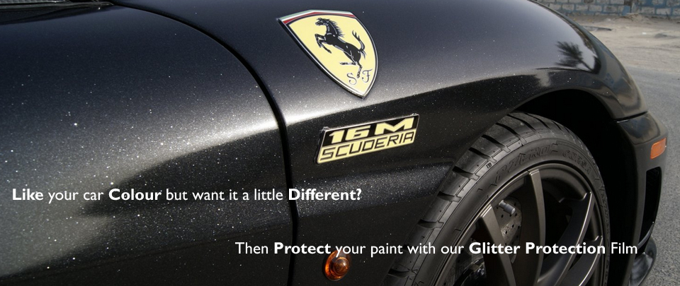 Keep The Colour Of Your Vehicle But Give It A Little Glittery Bling With Our Clear Glitter Protection