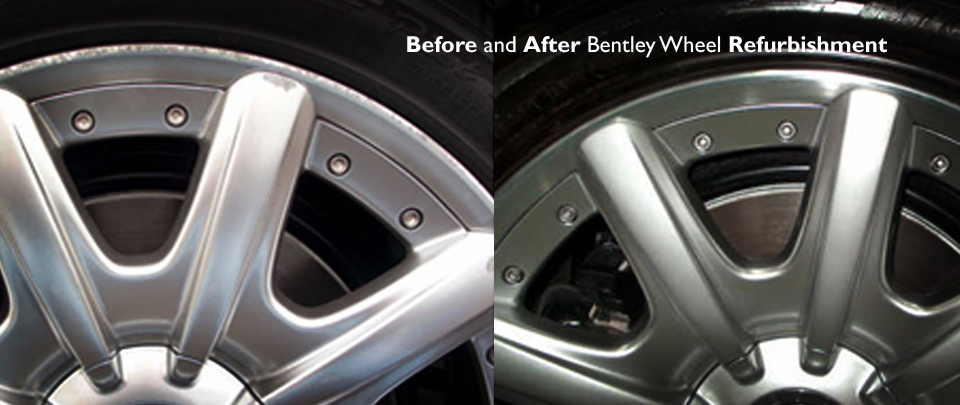 Alloy Wheel Refurbishment and Custom Painting Service In London