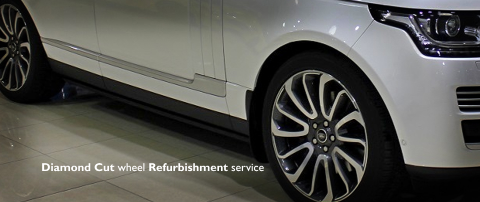 Diamond Cut Finish Alloy Wheel Repairs