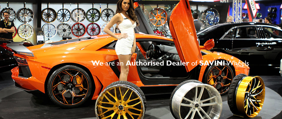 We are the UK's ONLY Authorised Dealer of SAVINI Alloy Wheels