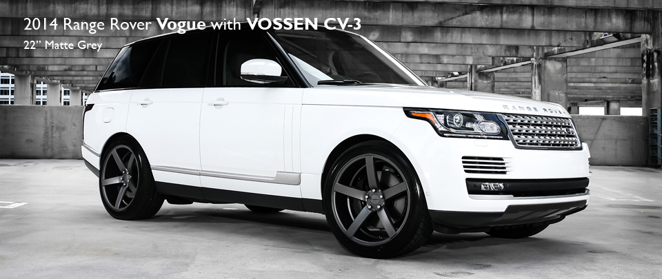 22 inch CV3 Alloy wheel from luxury brand VOSSEN