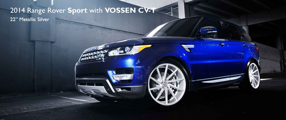 22 inch CVT Alloy wheel from luxury brand VOSSEN
